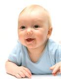 Leuk weinig baby Royalty-vrije Stock Afbeeldingen
