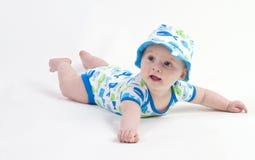 Leuk weinig babyjongen Royalty-vrije Stock Fotografie