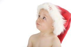 Leuk weinig babyjongen stock fotografie