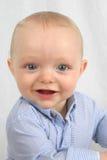 Leuk weinig jongen het glimlachen Royalty-vrije Stock Foto