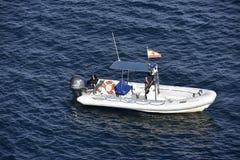 Leuk Weinig Vrije tijdsboot, Spanje Royalty-vrije Stock Afbeeldingen