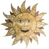 Leuk zonmarmer stock afbeelding
