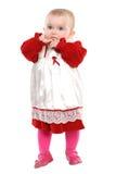 Leuke éénjarigenmeisje Royalty-vrije Stock Foto