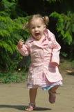 Leuke éénjarigenmeisje Stock Foto's