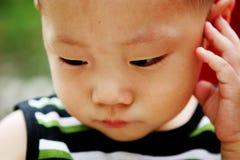 Leuke Aziatische jongen Royalty-vrije Stock Fotografie
