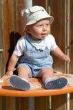 Leuke baby Stock Afbeelding