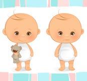 Leuke baby stock illustratie