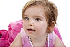 Leuke Baby bij Spel stock foto's