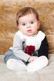 Leuke baby-jongen Stock Afbeelding