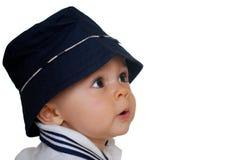 Leuke babyjongen Stock Afbeelding