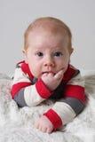 Leuke babyjongen royalty-vrije stock foto
