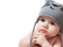 Leuke babyjongen Royalty-vrije Stock Foto's