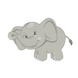 Leuke babyolifant Royalty-vrije Stock Afbeeldingen