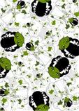 Leuke Beeldverhaalbruid van Frankenstein vector illustratie