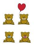 Leuke beren vector illustratie