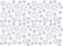 Leuke Bloemen van het bloemen de Naadloze patroon royalty-vrije stock fotografie