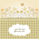 Leuke bloemenachtergrond Stock Afbeelding