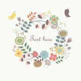 Leuke bloemenachtergrond Stock Fotografie