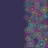 Leuke Bloemenachtergrond in de kleine bloem Ditsydruk Vector textuur Elegant malplaatje voor manierdrukken druk Royalty-vrije Stock Foto's