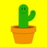 Leuke cactus Stock Afbeelding