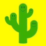 Leuke cactusfamilie Stock Fotografie