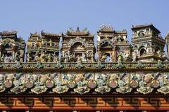 Leuke Chinese Huizen royalty-vrije stock afbeeldingen