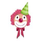 Leuke clown vector illustratie