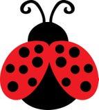 Leuke Dame Bug Clip Art royalty-vrije illustratie