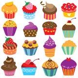 Leuke de kunstreeks van de cupcakesklem Royalty-vrije Stock Foto