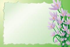 Leuke de lenteachtergrond Royalty-vrije Stock Afbeeldingen