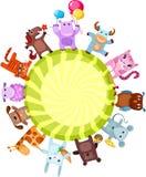 Leuke dieren stock illustratie