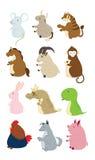 Leuke dieren Royalty-vrije Stock Afbeeldingen