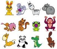 Leuke dieren vector illustratie