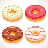 Leuke donuts Royalty-vrije Stock Afbeelding