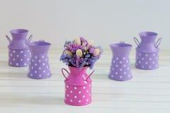 Leuke droge bloemen Royalty-vrije Stock Afbeeldingen