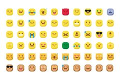 Leuke emojis met kat en aap geïsoleerde smileyvector vector illustratie