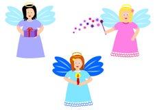 Leuke engelen royalty-vrije illustratie