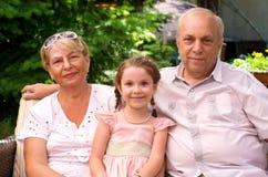 Leuke familie Stock Afbeeldingen