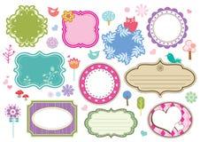 Leuke frames Royalty-vrije Stock Afbeeldingen