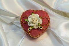 Leuke gift voor de dag van Valentine ` s Stock Afbeeldingen