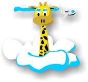 Leuke giraf Stock Afbeelding