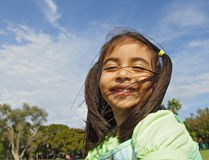 Leuke Glimlach Royalty-vrije Stock Afbeeldingen