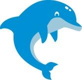 Leuke grappige dolfijn Stock Fotografie