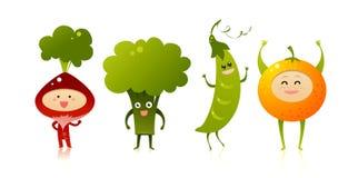 Leuke groenten stock afbeelding
