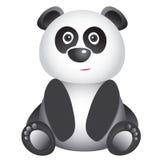 Leuke het glimlachen panda Stock Afbeelding