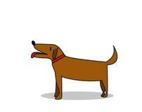 Leuke hond stock illustratie