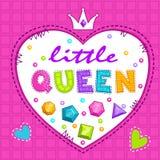 Leuke illustratie voor meisjes royalty-vrije illustratie