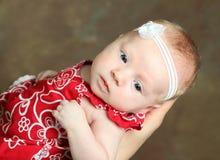 Leuke jonge baby Royalty-vrije Stock Foto's