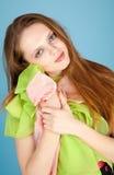 Leuke jonge vrouw Royalty-vrije Stock Foto's
