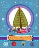 Leuke Kerstboom Royalty-vrije Stock Foto